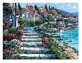Howard Behrens Steps of St Tropez