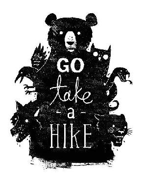 Michael Buxton Go Take A Hike Canvas