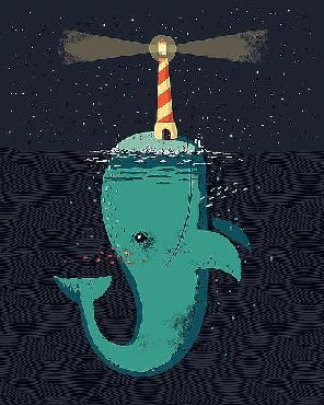 Michael Buxton King Of The Narwhals Canvas