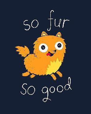 Michael Buxton So Fur So Good Canvas