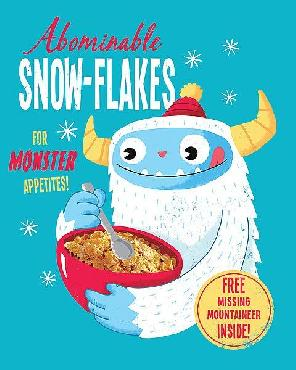 Michael Buxton Abominable Snowflakes Canvas