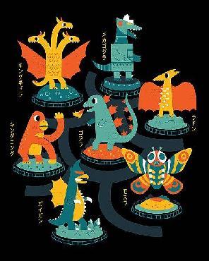Michael Buxton Tokyo Zoo Canvas