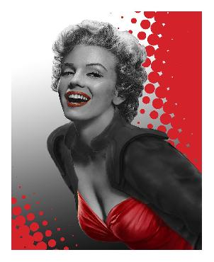 Chris Consani Marilyn Red