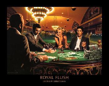 Chris Consani Royal Flush