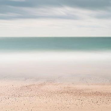 Wilco Dragt Beach, Sea, Sky Canvas