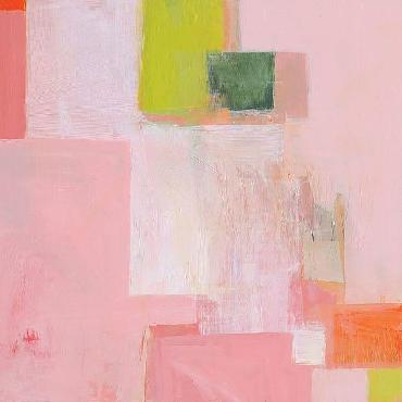 Melissa Donoho Pink Squares