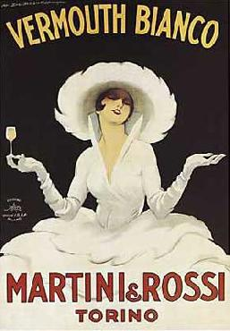 Marcello Dudovich Martini & Rossi Canvas