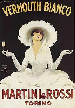 Marcello Dudovich Martini & Rossi Canvas