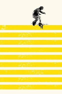Robert Farkas Slide In Stripes Canvas