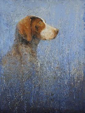 Matt Flint A Very Good Dog Canvas