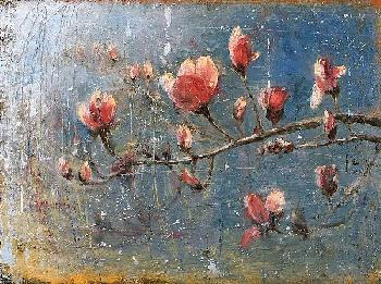 Matt Flint Spring Blossoms Canvas