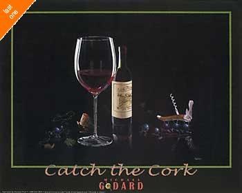 Michael Godard Catch the Cork NO LONGER IN PRINT - LAST ONES!!