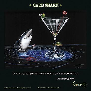 Michael Godard Card Shark