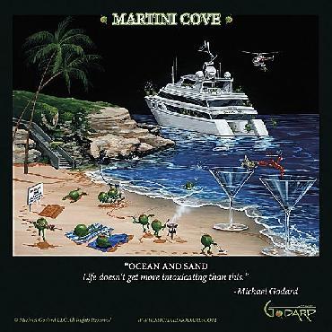 Michael Godard Martini Cove