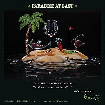 Michael Godard Paradise At Last