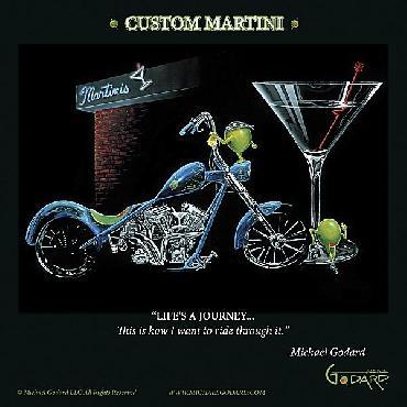 Michael Godard Custom Martini