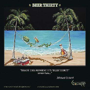 Michael Godard Beer Thirty