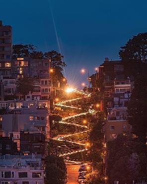 Bruce Getty Lombard Street