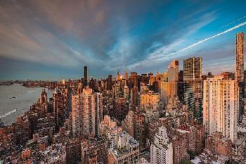 Bruce Getty New York Morning Canvas