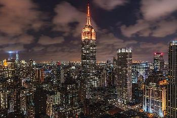 Bruce Getty Orange 9 - 11 Canvas