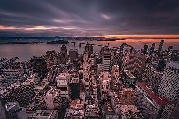 Bruce Getty San Francisco Look Down