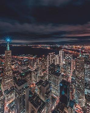 Bruce Getty San Francisco Look Down 5