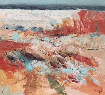Simona Gocan Contemplation Canvas
