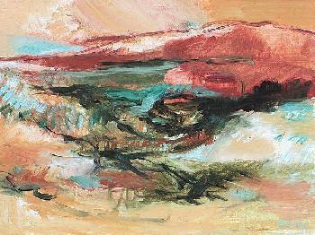 Simona Gocan End Of Day Canvas