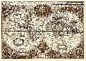 Henricus Hondius Nova Totius Terrarum Orbis Tabula