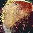 Klimt Danae, 1907 - 1908 Canvas