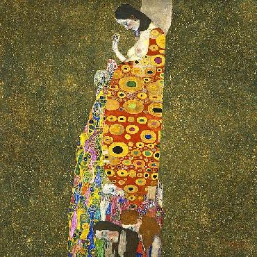 Gustav Klimt Hope II, 1907 - 1908 Canvas