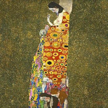 Gustav Klimt Hope II, 1907 - 1908