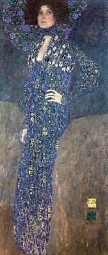 Gustav Klimt Portrait Of Emilie Floge Canvas