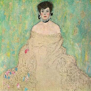 Gustav Klimt Portrait Of Amalie Zuckerkandl, 1917 - 1918