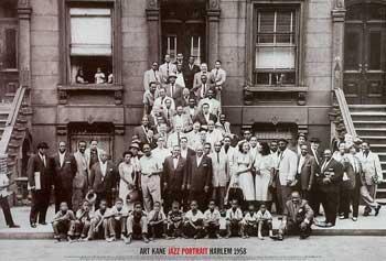 Art Kane Jazz Portrait  -  Harlem, 1958