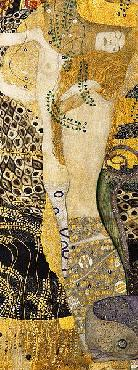 Gustav Klimt Water Serpents I