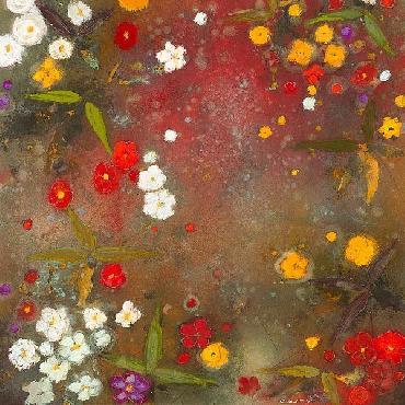 Aleah Koury Gardens In The Mist VI