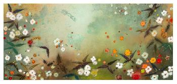 Aleah Koury Gardens In The Mist VIII Canvas