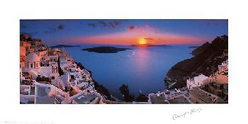 Georges Meis Sunset in the Mediterranean
