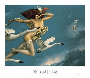 Michael Parkes Night Flight
