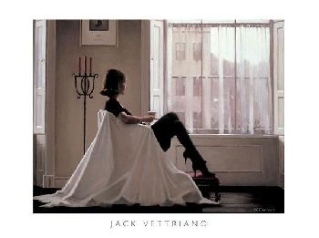 Jack Vettriano In Thoughts Of You