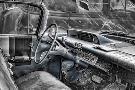 Bob Rouse 060 Buick Lesabre Interior Bw