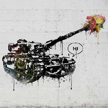 Danksy Panzer Party Canvas