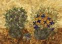 Dryflowersart Still Life With Two Vases 2