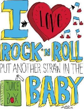 Elizabeth Caldwell I Love Rock N Roll