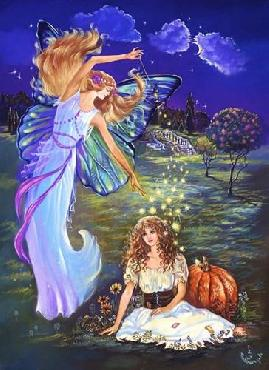 Judy Mastrangelo Cinderella And Fairy Godmother
