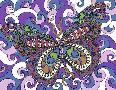 Kathy G. Ahrens Bashful Garden Butterfly Soaring High
