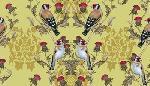 Maria Rytova Goldfinches (pattern)