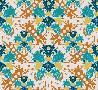 Maria Rytova Teal & Orange (pattern)