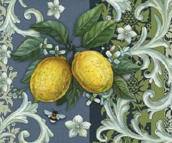 Maria Rytova Lemon Canvas